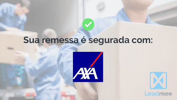 Your shipment is insured with AXA